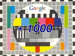 Google +1000